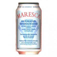 Maresca Mineraalwater Rood Blikjes Tray 24x33cl