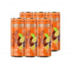Shatlers Long Island Iced Tea Cocktail Premix Blikjes 25cl Tray 6 Stuks