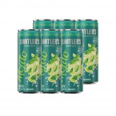 Shatlers Mojito Cocktail Premix Blikjes 25cl Tray 6 Stuks