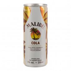 Malibu Cola 25cl tray 12 Stuks