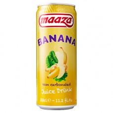 Maaza Banana Blikjes 33cl Tray 24 Stuks
